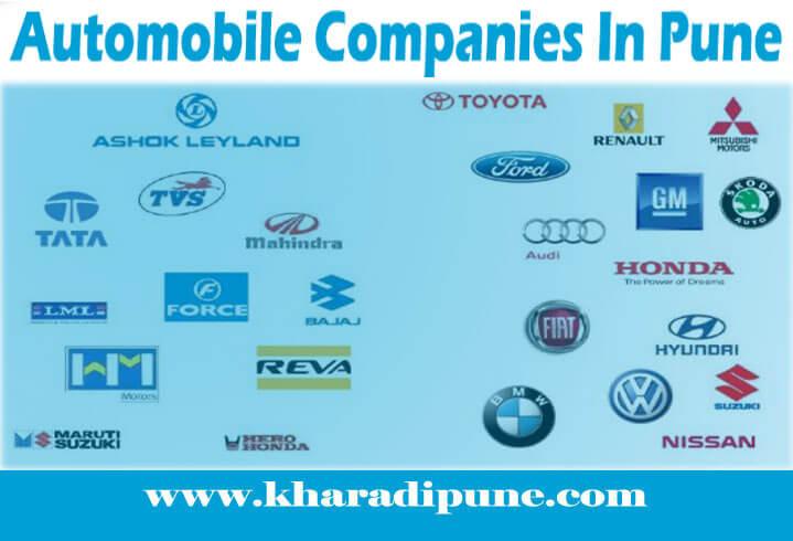Automobile Companies In Pune