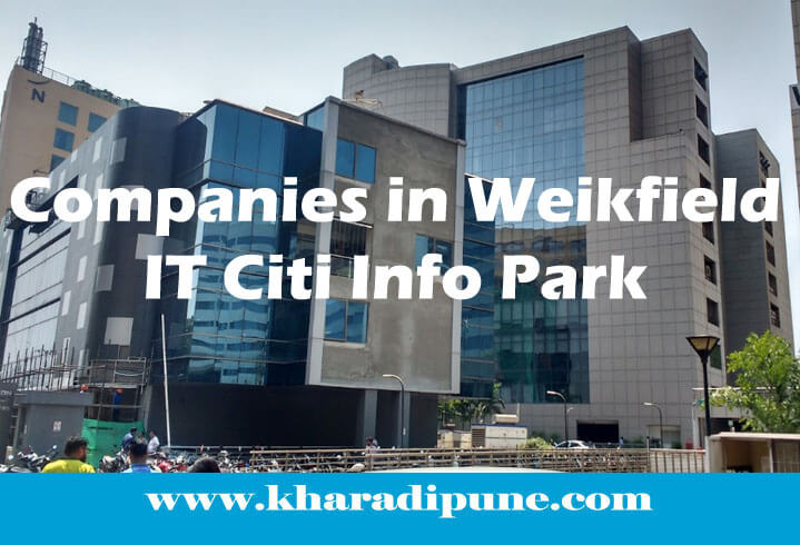 Companies in Weikfield IT Citi Info Park