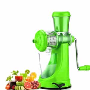 One Stop Shop Plastic manual Fruit Juicer