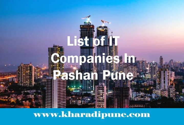 List of IT Companies In Pashan Pune